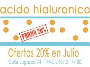 Acido Hialuronico Precio Ofertas 20% en Julio