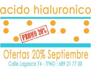 Acido Hialuronico Precio Ofertas 20% en Septiembre