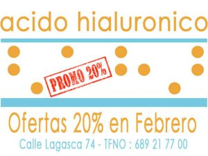 Acido Hialuronico Precio Ofertas 20% en Febrero